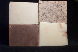basic soap recipe for beginners, anti-garlic or kitchen soap bar recipe, odor removing soap recipe, coffee cold process soap recipe, homemade coffee soap recipe