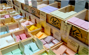selling natural soap, making natural soap, selling handmade soap, selling soap craft fairs, how to make money selling soap,